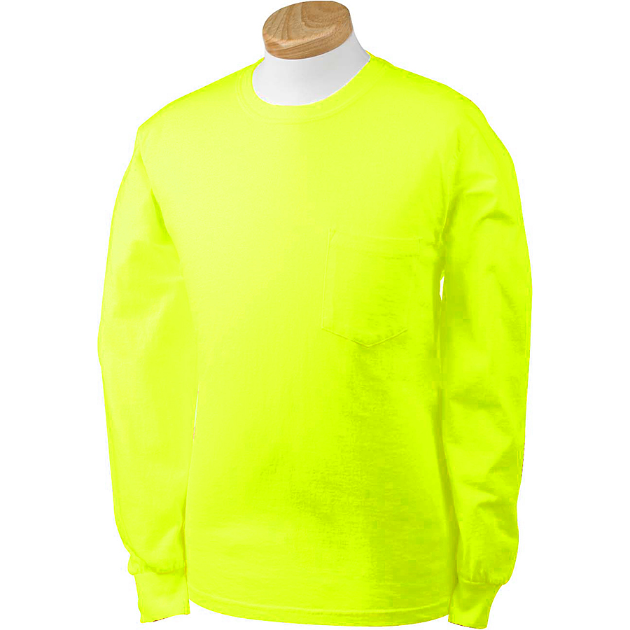 7972fef0ed Gildan High Visibility Long Sleeve T Shirt - High Visibility Shirts ...