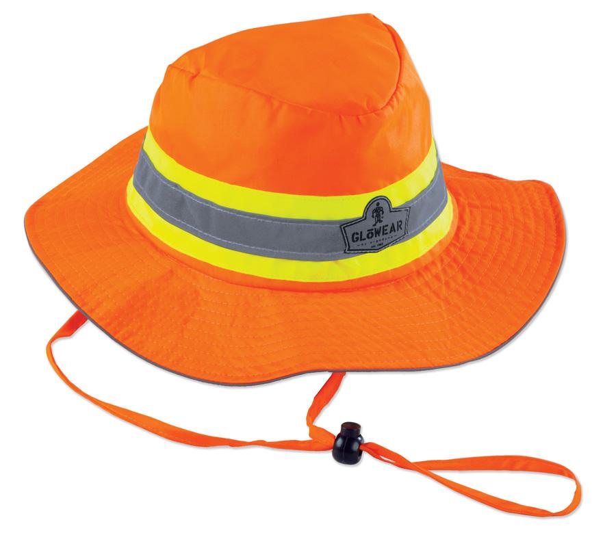 836f879416b3d GloWear 8935 Class Headwear Hi-Vis Ranger Hat - High Visibility Headwear -  High Visibility Clothing - Safety Clothing